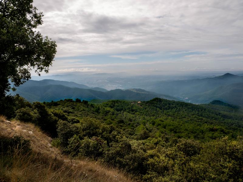 aussicht pla de la calma nachhaltig reisen katalonien