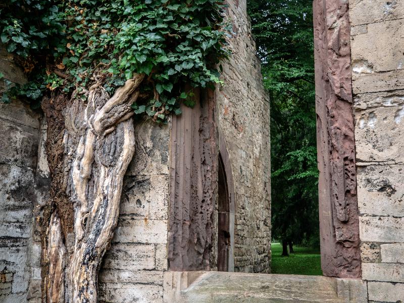 echte ruine tempelherrenhaus weimar