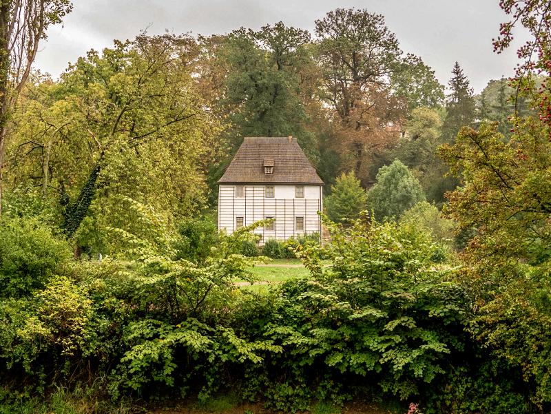 gartenhaus goethe park an der ilm weimar
