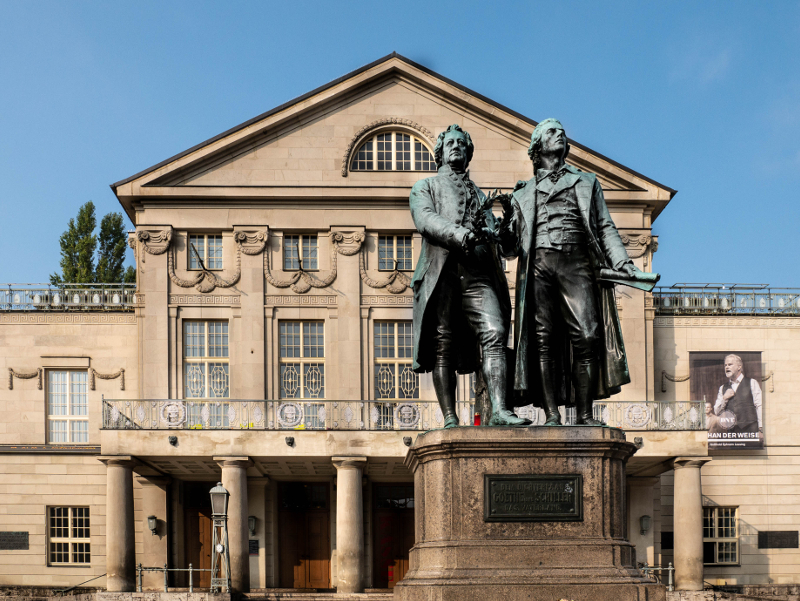 nationaltheater weimar goethe schiller