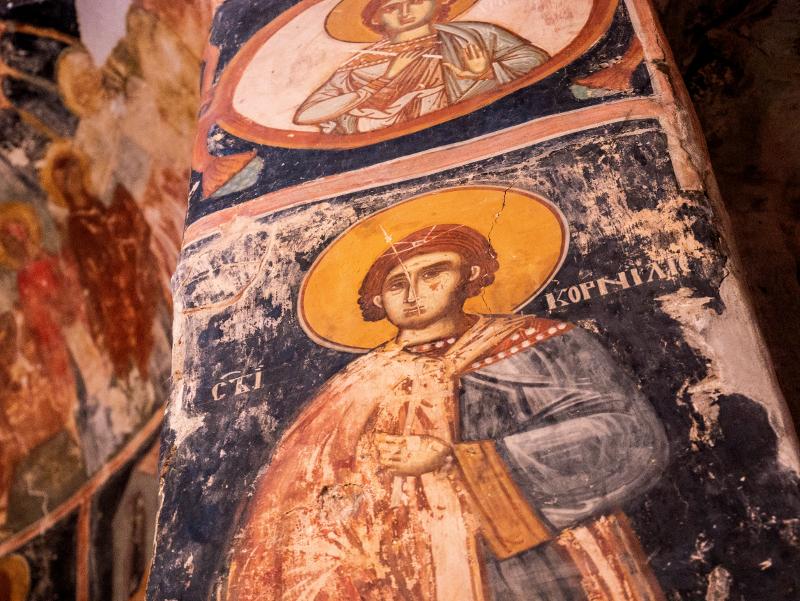 orthodoxe kirche malerei serbien