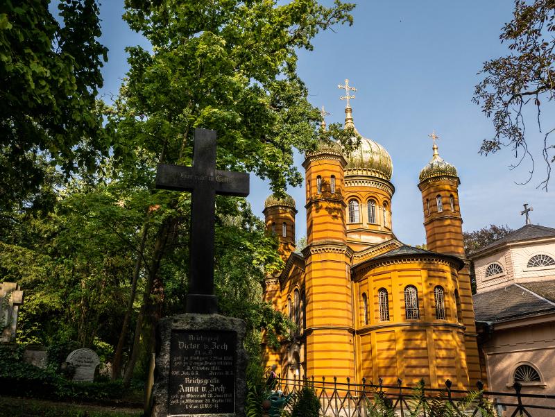 russisch orthodoxe kirche friedhof weimar