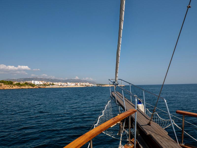 segeln alania segelboot schnorcheln delta ebro