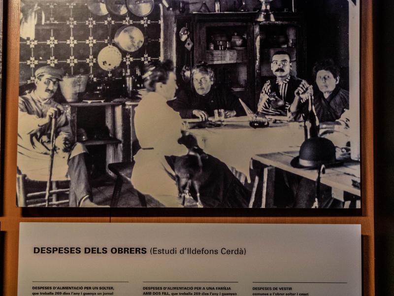 Arbeiter Icarius Barcelona Museum katalanische Geschichte MHC