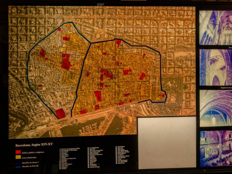 Stdtmauer Barcelona Museum katalanische Geschichte MHC