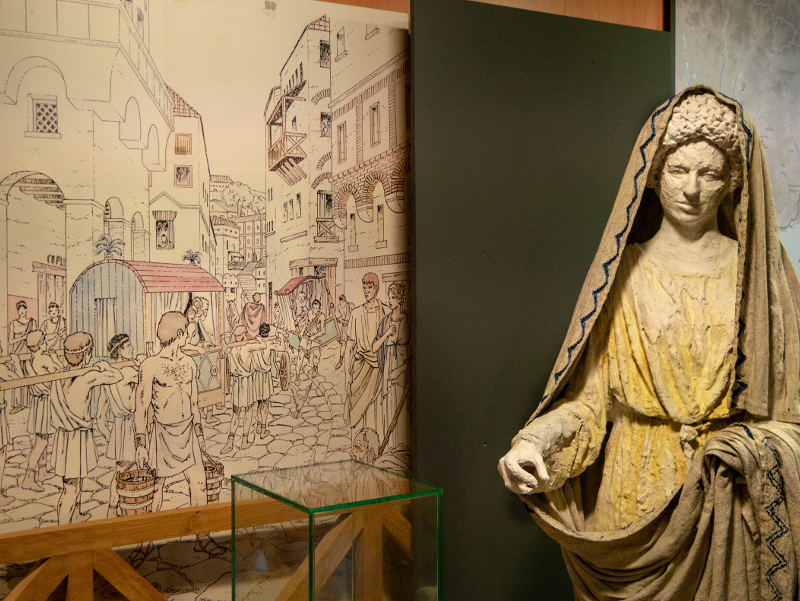 Römer Barcelona Museum katalanische Geschichte MHC