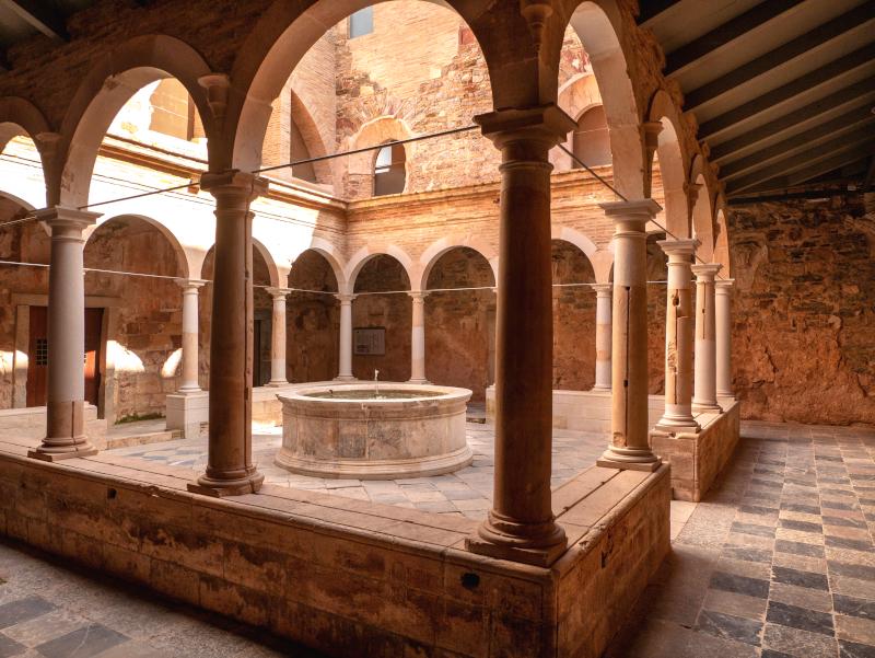 Kreuzgang escaladei kloster Kartäuser Priorat