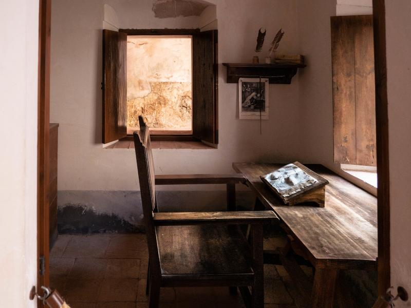 zelle schreibtisch escaladei kloster Kartäuser Priorat