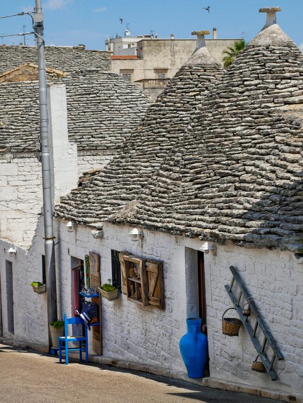Alberobello trulli apulien