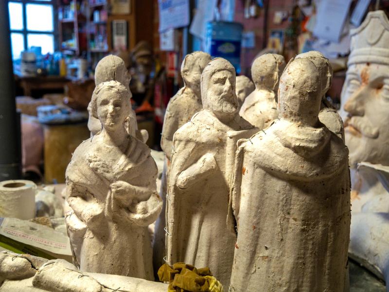 krippenfiguren Gegants werkstatt riesen