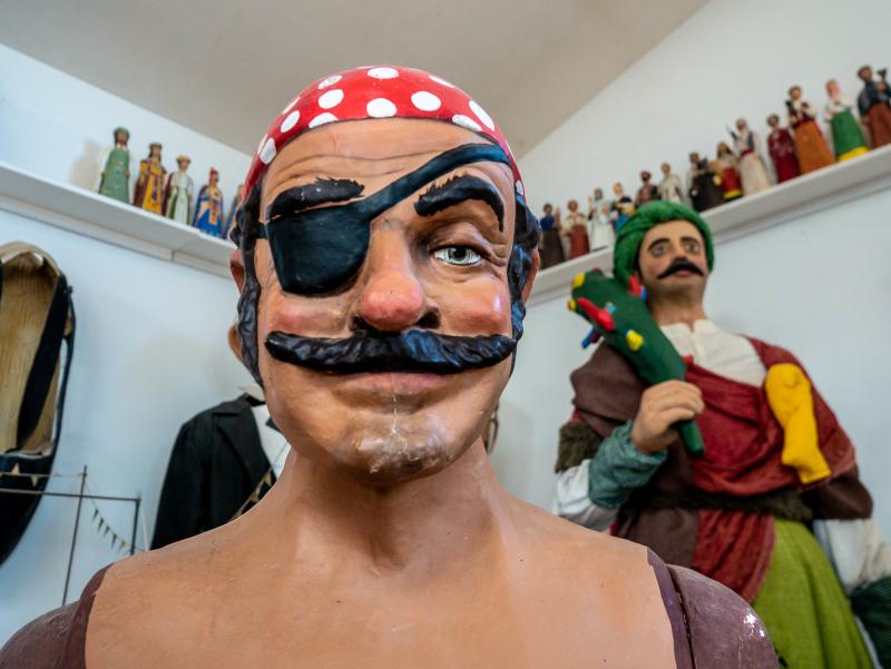 pirat riese Gegants werkstatt riesen
