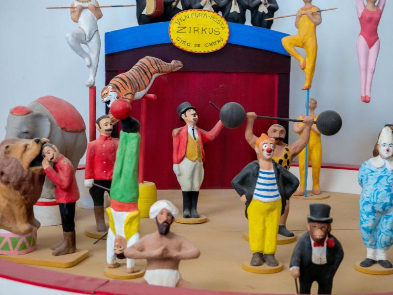 zirkus Gegants werkstatt riesen