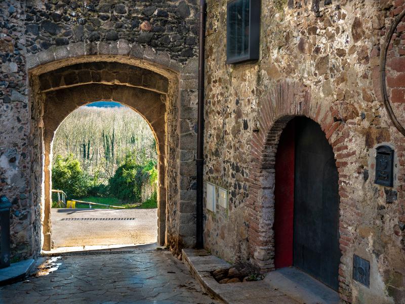 hostalric portal els horts