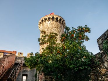 hostalric torre del Arara wehrturm stadtmauer