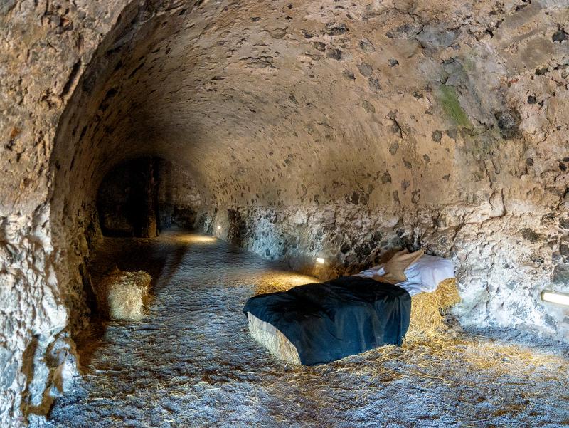 hostalric unterirdsiche tunnel