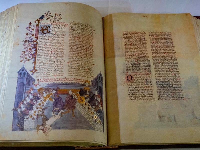 Hagada Buch girona Museum juedische Geschichte