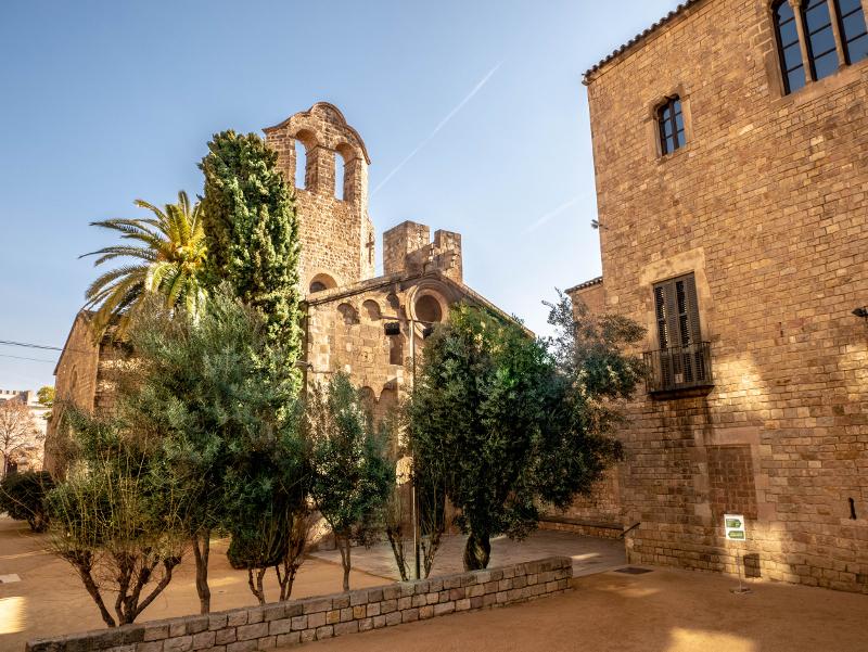 Monestir sant pau del camp barcelona