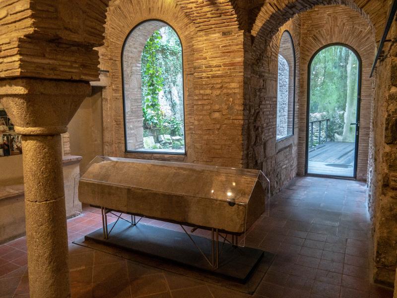 Montjuic girona juedischer friedhof Museum juedische Geschichte