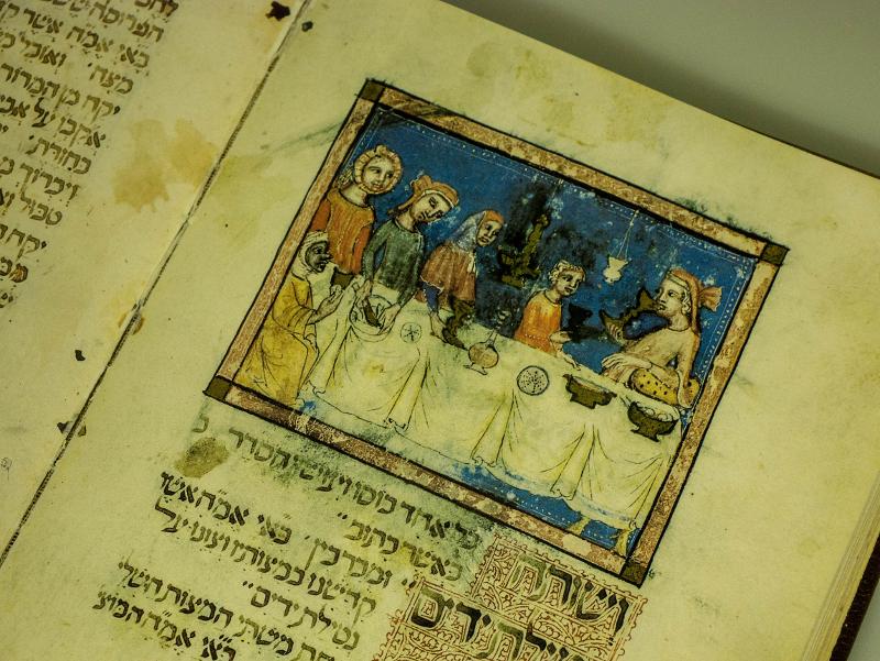 alte dokumente schriften Girona Museum juedische Geschichte