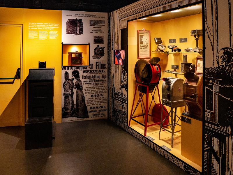 edison kinetoskop kino museum girona