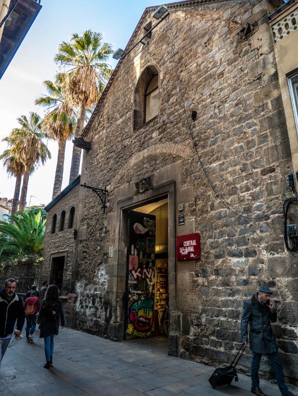 la central raval barcelona