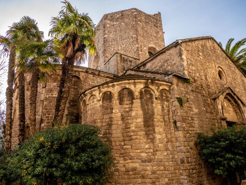 Kloster sant pau del camp barcelona