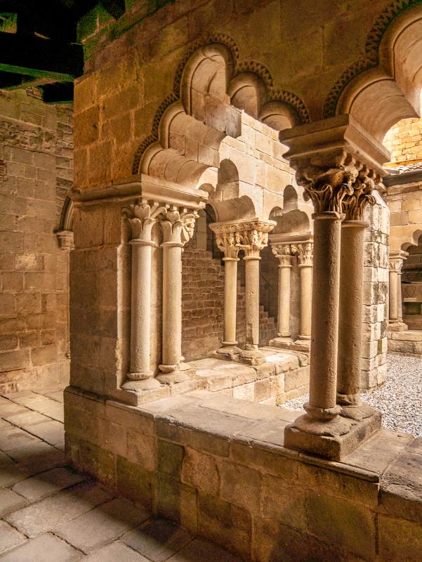 Kreuzgang Kloster sant pau del camp barcelona