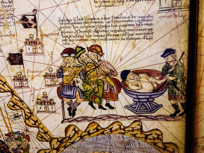 katalanischer Weltatlas Cresques girona Museum juedische Geschichte