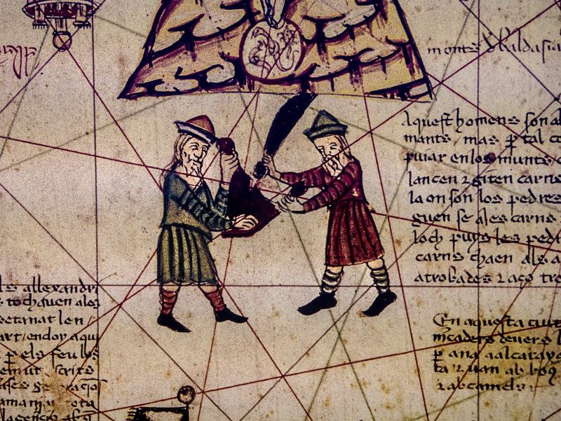 katalanischer Weltatlas Girona Museum juedische Geschichte