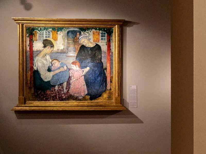 museu d art girona frau freibeuter reisen santa familia mela muter