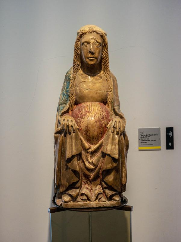 museu d art girona frau freibeuter reisen verge esperanca