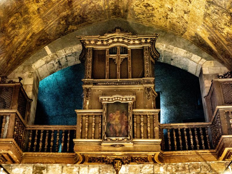 orgel kirche antic hospital santa creu raval barcelona