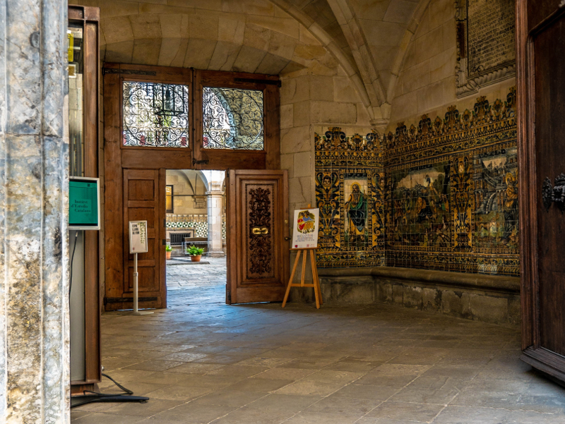 raval barcelona freibeuter reisen ielc Antic Hopspital de santa creu