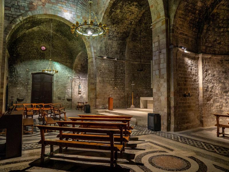 Kirche sant pau del camp barcelona