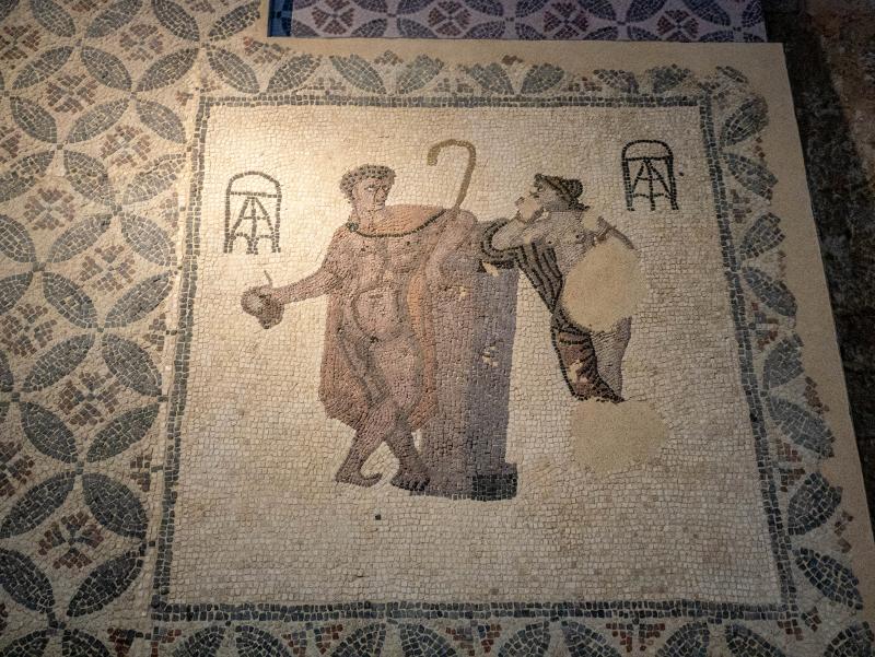 sant pere de galligants girona mosaik
