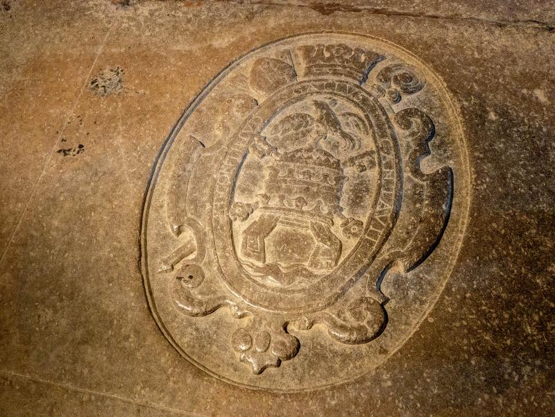 sant pere de galligants girona steinplatte grabplatte
