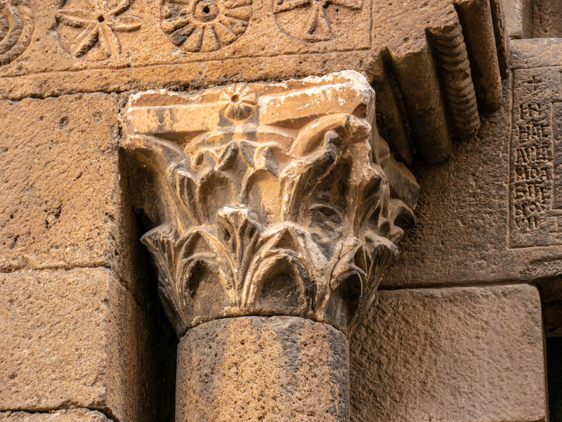 Saule Westgotisch sant pau del camp barcelona