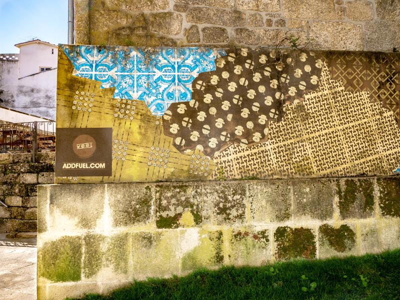 ADDFUEL Street Art Wool fest in Covilhã