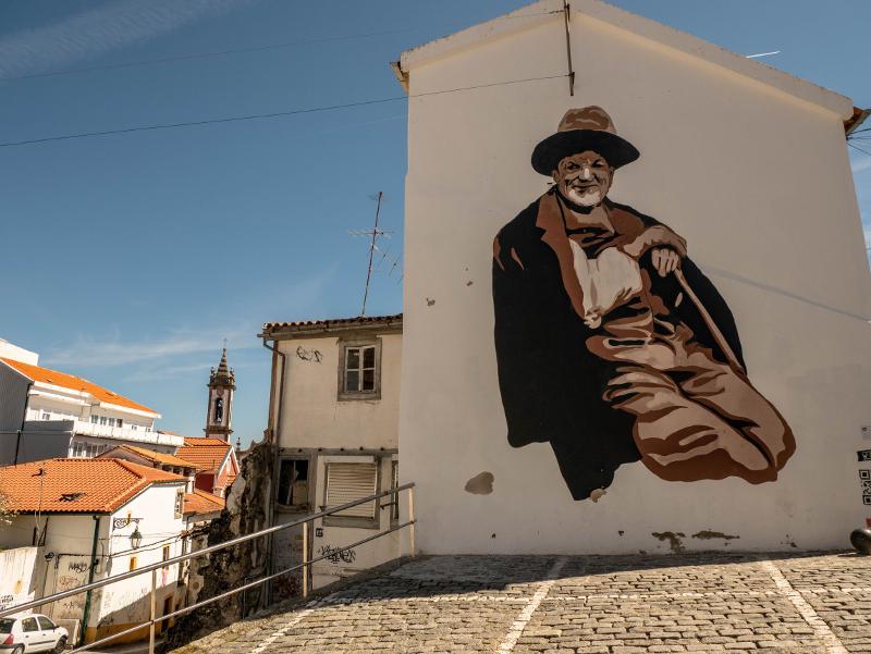 BTOY Street Art Wool fest in Covilhã