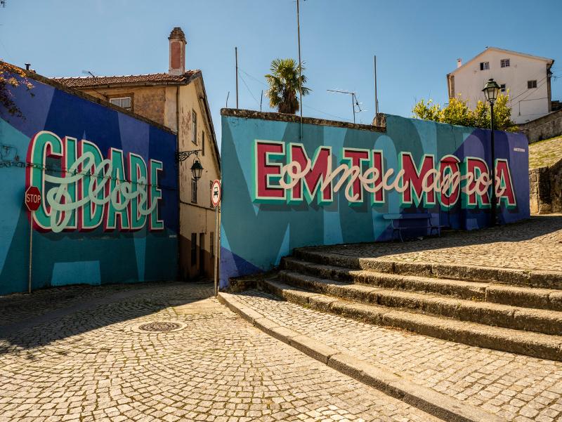 HAlfstudio Street Art Wool fest in Covilhã