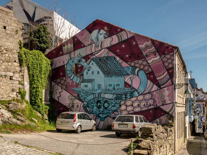 KRAM Street Art Wool fest in Covilhã