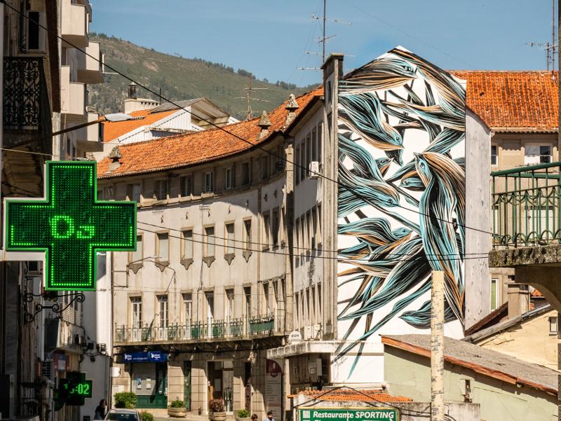 PANTONIO Street Art Wool fest in Covilhã