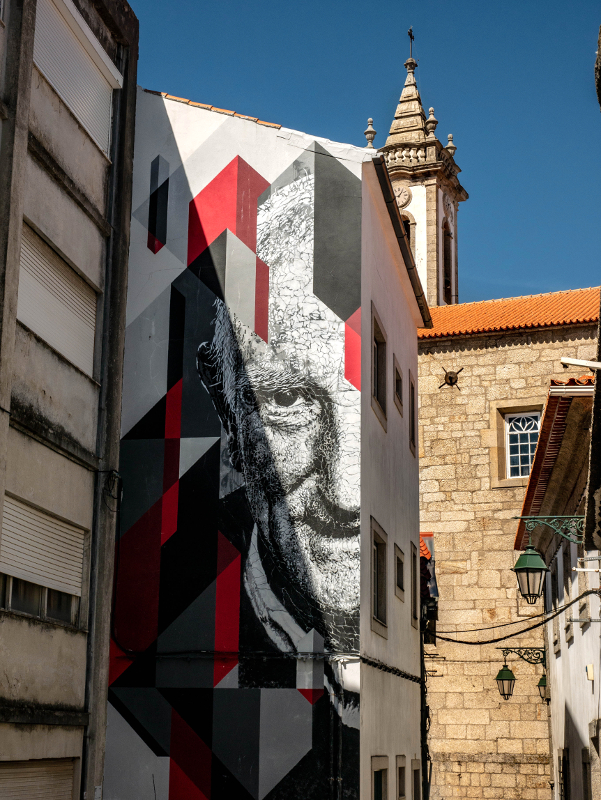 SAMINA Street Art Wool fest in Covilhã