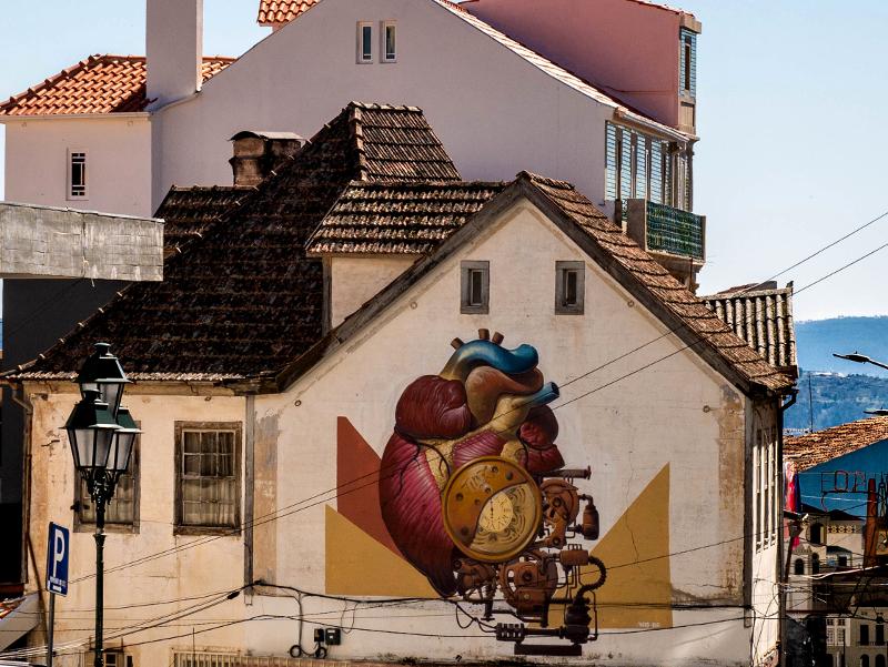 THIRD Street Art Wool fest in Covilhã