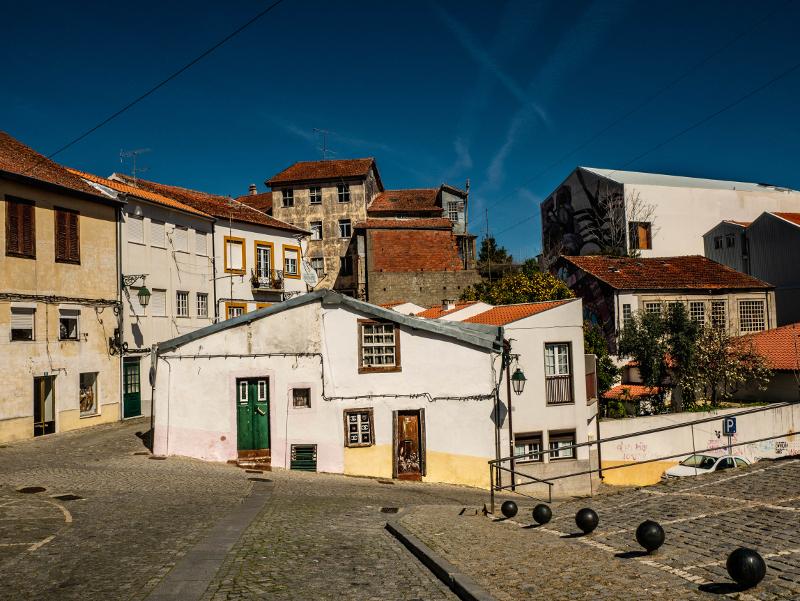Street Art Wool fest in Covilhã