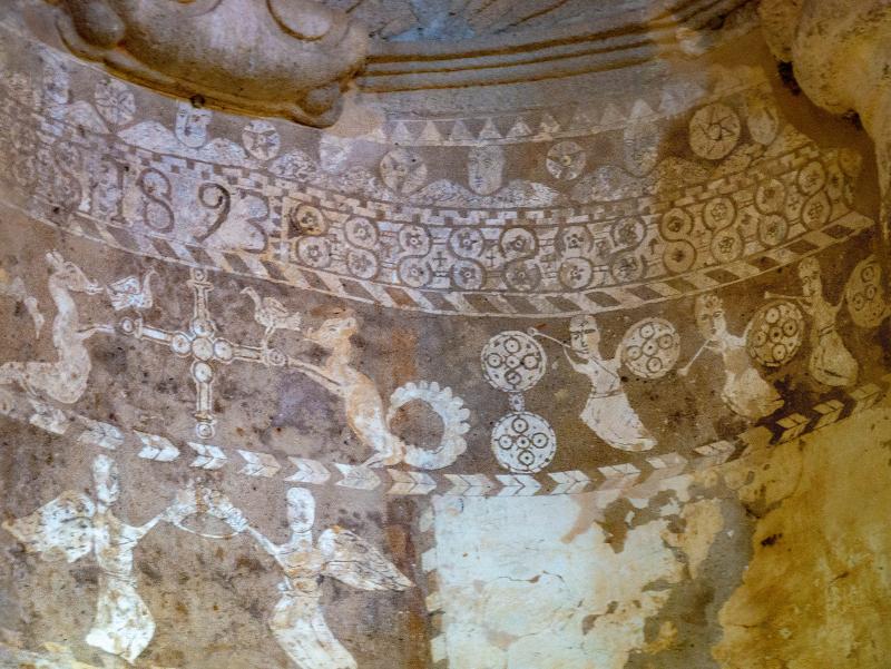 kirche wandmalereien Idanha-a-Velha