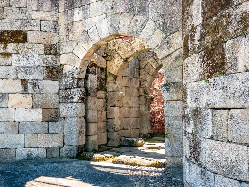 stadtmauer portal nord Idanha-a-Velha