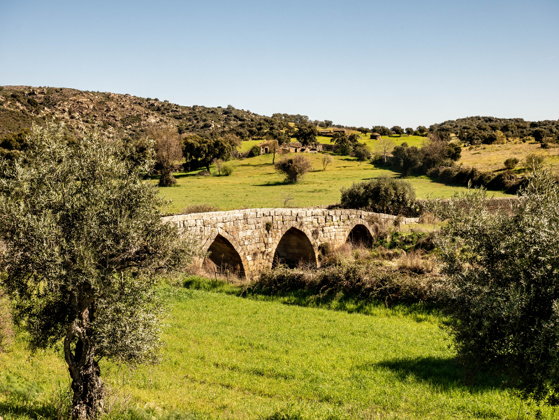 römische Brücke Idanha-a-Velha aldeias históricas