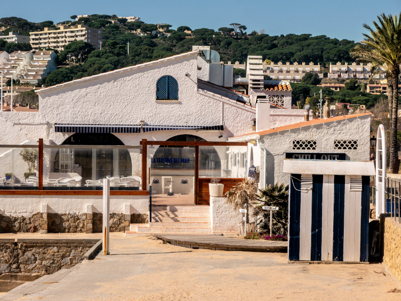 S'Agaró cami de ronda platja d aro freibeuter reisen badehaeuser