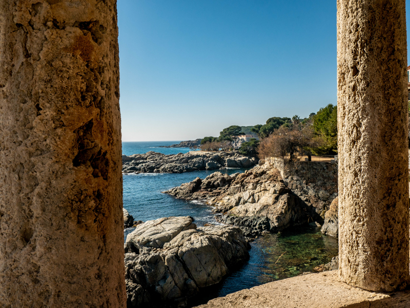 S'Agaró cami de ronda platja d aro freibeuter reisen mindfulness